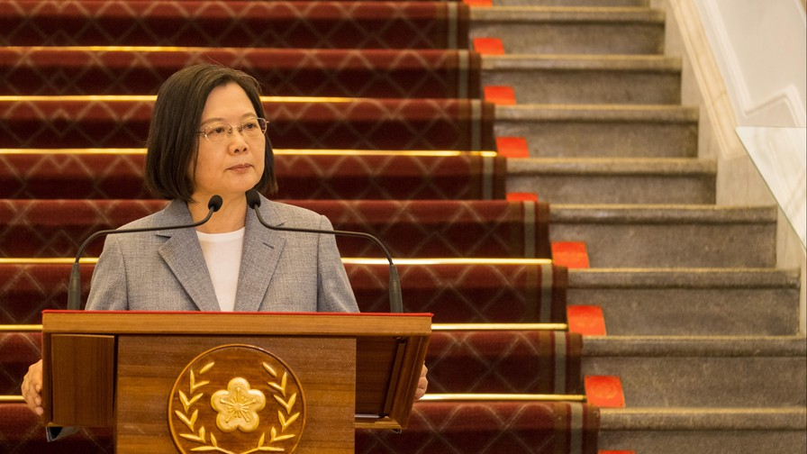 Taiwan president, US delegation affirm strong ties