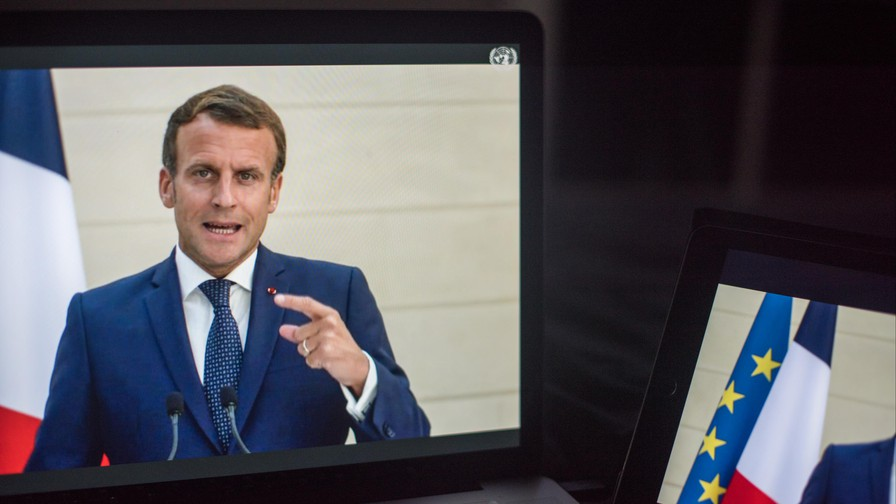 "Macron says 'no compromise"" with US on Iran sanctions"