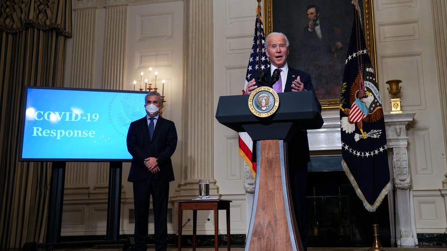 Biden says US to buy 200 million more doses of COVID-19 vaccine