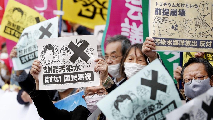 Japan to release one million tons of contaminated water from Fukushima nuclear plant into sea
